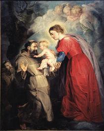 P.P.Rubens, Hl.Franziskus empf.Jesuskind von AKG  Images