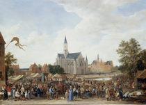 D.Teniers d.J., Toepfermarkt in Gent von AKG  Images