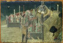 Ambrogio Lorenzetti, La Citta von AKG  Images