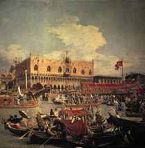 Canaletto, Rueckkehr des Bucentaurs by AKG  Images