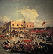 Canaletto, Rueckkehr des Bucentaurs von AKG  Images