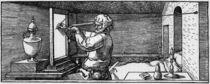 Duerer, Der Zeichner mit dem Richtscheit by AKG  Images
