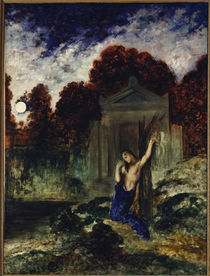 Gustave Moreau,Orpheus am Grab Eurydikes by AKG  Images