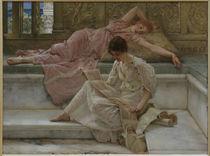 L.Alma Tadema, Der Lieblingsdichter by AKG  Images