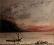 G.Courbet, Sonnenuntergang by AKG  Images