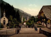 Hoellental, Eingang zur Ravennaschlucht by AKG  Images