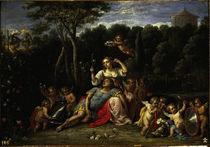 D.Teniers, Rinaldo im Garten der Armida von AKG  Images
