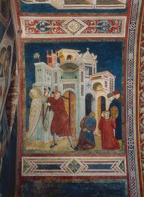 Giottoschule, Hl.Nikolaus rettet Ritter von AKG  Images