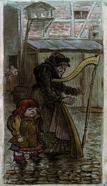 H.Zille, Die Harfenjule by AKG  Images