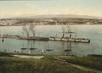 Douglas, Isle of Man, Hafen / Photochrom von AKG  Images
