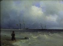 I.K.Aiwasowski/ Meereskueste/ 1840 von AKG  Images