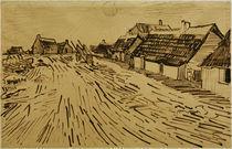 V.v.Gogh, Sonnenbeschienene Haeuser von AKG  Images