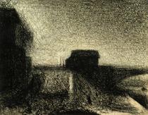 G.Seurat, Die Bruecke von Courbevoie von AKG  Images