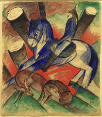 Franz Marc, Der heilige Julian by AKG  Images