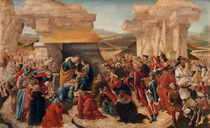 Botticelli, Anbetung der Koenige by AKG  Images
