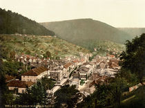 Wildbad, Stadtansicht / Photochrom by AKG  Images