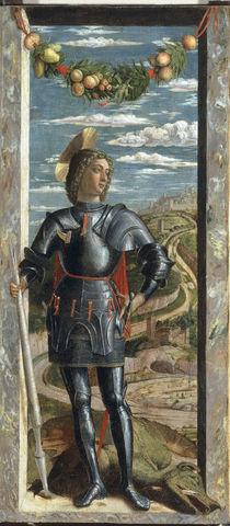 Andrea Mantegna, Hl.Georg von AKG  Images