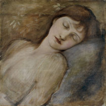 E.Burne Jones, Schlafende Prinzessin von AKG  Images