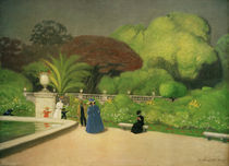 Felix Vallotton, Jardin du Luxembourg by AKG  Images