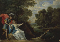 D.Teniers, Versoehnung Rinaldos m.Armida by AKG  Images