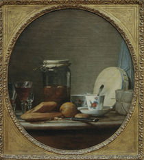 J.B.S.Chardin, Das Aprikosenglas von AKG  Images