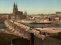 Dresden, Blick von der Neustaedter Seite by AKG  Images