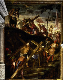 Tintoretto, Die Kreuztragung by AKG  Images
