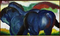 Franz Marc, Die kleinen blauen Pferde von AKG  Images
