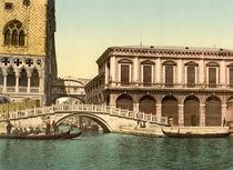 Venedig,Seufzerbruecke,Prigioni/Photochro von AKG  Images