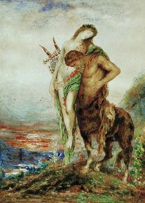 Gustave Moreau, Der muede Zentaur by AKG  Images