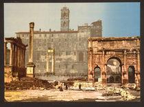 Rom, Forum Romanum von AKG  Images