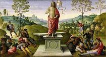 Perugino, Auferstehung Christi von AKG  Images