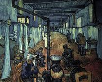 Van Gogh/Schlafsaal Hospital Arles/1889 von AKG  Images