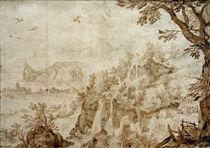 J.Brueghel d.Ae., Gebirgslandschaft by AKG  Images