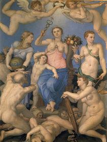 A.Bronzino, Allegorie der Glueckseligkeit by AKG  Images