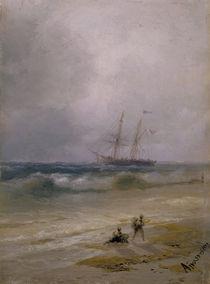 I.K.Aiwasowski, Schiff auf dem Meer von AKG  Images