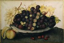 G.Garzoni, Schale mit Weintrauben by AKG  Images