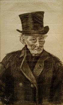 V.van Gogh, Alter Mann mit Zylinder by AKG  Images