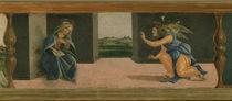 Botticelli, Verkuendigung / Predella von AKG  Images