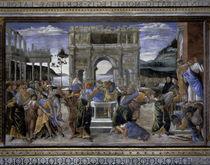 S.Botticelli, Bestrafung der Rotte Korah by AKG  Images