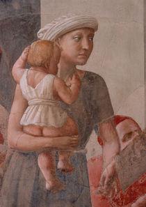 Masaccio, Petrus verteilt Gueter, Ausschn von AKG  Images