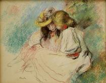 A.Renoir, Zwei lesende Maedchen von AKG  Images