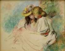 A.Renoir, Zwei lesende Maedchen by AKG  Images