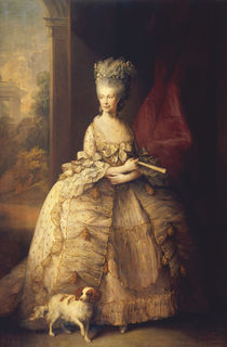 Koenigin Charlotte v. Engl. /Gainsborough by AKG  Images