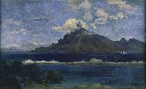 P.Gauguin, Landschaft von Te Vaa von AKG  Images