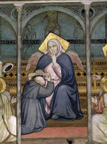 Giotto, Allegorie des Gehorsams by AKG  Images