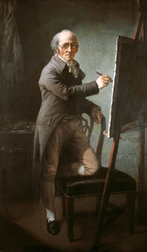 Anton Graff, Selbstbildnis 1809 by AKG  Images