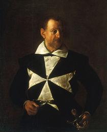 Caravaggio, Bildnis Malteserritter by AKG  Images