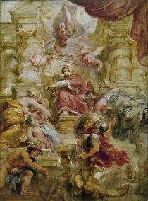 Jakob I. als Friedenskoenig/ P.P. Rubens by AKG  Images