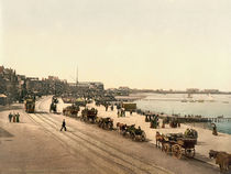 Morecambe, Strandpromenade / Photochrom by AKG  Images